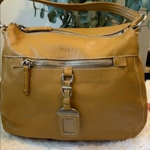 Beautiful Tan brown Prada purse